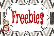 Freebies for Teachers / Free printables and lessons for the elementary classroom teacher