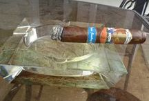 Cigar Ashtrays / Why settle for a cheap plastic ashtray when you can have a crystal ashtray or metal ashtray at an affordable price? This board has a variety of ashtrays for yourself, or when you host a cigar herf.