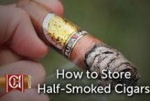 Tips and tricks for cigar smokers / Cheaphumidors created this board to provide cigar demonstrations, cigar how to's, and cigar infographics that help novice and expert cigar smokers alike.