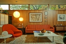 Mid-Century Furniture and Home Decor / by Lynne Burns