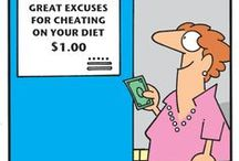 AWW Dieting humor/inspiration / by Katherine Duncan