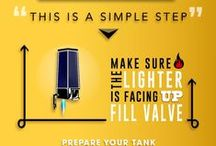 How to Refill a Butane Torch Lighter / How exactly do you refill a butane torch lighter? This board features videos and infographics showing each step on how to refill your lighter with butane.