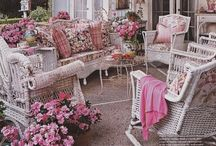 #12) Garden.. Patios, Decks, stepping stones and  Outdoor Fireplaces... / by Cindi Hinshaw