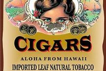 The Art of Cigars / This board combines the most amazing cigar band art, cigar wall art, and everything else that makes cigars and accessories beautiful to look at.