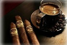 Coffee and Cigars / Pairing cigars and coffee is a delicious and genius combination of flavors. Amp up your morning with a nice latte and a cigar to prepare for the day. Try pairing your coffee with a cigar that has a similar blend or is from a similar region.