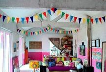 Garlands & bunting / add fun to any space