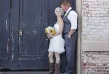 My Fairytale Ending Come True / Photos from my cowgirl dream wedding for pinspiration / by Kyrie Vidal