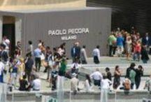 """Herrenmodemesse """"Pitti Uomo"""" / Impressions von der Messe Pitti Uomo in Florenz Juni 2014. Trends in der Menswear FS 2015"""