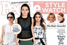 April Cover IT Girl - Kendall Jenner / Our April issue is here and we are so excited to have IT Girl Kendall Jenner gracing the front page! Check out our fave style moments from the model as well as some of our picks to get her cool girl vibe on any budget. xo / by People StyleWatch Magazine