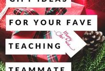 Gifts for Teachers / Ideas for teacher gifts for holidays and teacher appreciation