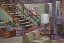 TV/Movie Homes / My favourite homes and interiors from various TV shows and movies.