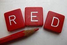 pop of red / red, white  / by eileensideways