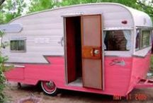Vintage Campers / My mobile dream home / by Donna W