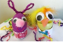 As the Bunny Hops Easter kids crafts and activities / by Candace Lindemann - Naturally Educational