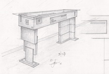 Concept Furniture / Not only do Marquess design and Create concepts for the Client but we Make them too - all to specification !!! From real wood, to precious materials. 