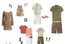 Spring/Summer Family | What to Wear / Inspiration for families on how to dress for your family portrait session.