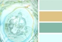 Color Palettes / by Miss Guylaine Martel