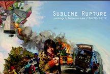 Sublime Rupture: paintings by benjamin duke | 2012