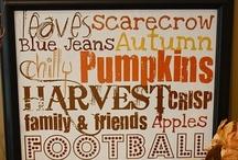 Happy Fall Y'all / by eileensideways