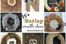 Burlap Craft Bliss / by CraftBliss
