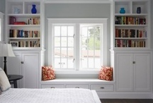 front room built-ins / by Catherine Watkins