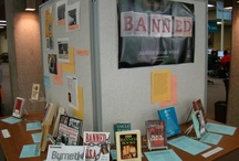 Banned Books Display, 2012 / These titles are part of our Banned Books Week display for 2012!