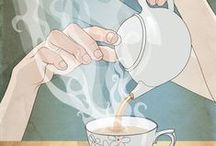 Just My Cup of Tea... / Because hot tea, with milk, just makes me happy.  And I won't live without it.   / by Diane Siner