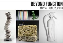 Beyond Function | 2013 / Exhibition Dates: May 4 - June 2, 2013 // Target Gallery presents Beyond Function, an exhibition featuring ceramic works that go beyond utility, seeking to be valued for their aesthetic quality over their usefulness. In addition, juror Novie Trump will create a site-specific ceramic installation outside the gallery.