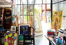 Art Studio / Some ideas for the classroom of the Visual Arts for Missions!