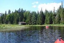 Kayak / Possibilités de randonnées en kayak au Québec et en Nouvelle-Angleterre / by Beah H