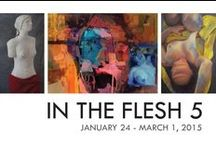 In The Flesh V | 2015 / Group Exhibition // Target Gallery