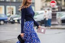 Fashion: Colour Blue