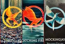 The Hunger Games / I liked the movies a lot, but when I read the books, I geeked. For a YA fiction, this is deep stuff; politics, propaganda, oppressive government, a reluctant heroin, and a romance to boot.