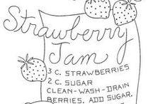 strawberry love / all things strawberry