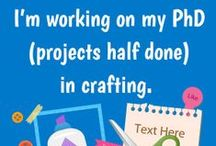 Craft Quotes and Posters / www.craftbliss.com / by CraftBliss