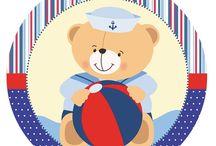 Kit ursinho marinheiro 2