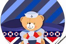 Kit ursinho marinheiro 1