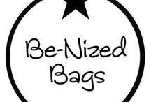 Be-Nized / Be nized bags fabrica en España hermosos sacos para almacenar juguetes, peluches, disfraces, libros o cualquier objeto.   Hechos a mano en 3 capas de papel, son resistentes y reutilizables.