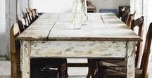 CM loves: tables / coulson macleod loves a chunky old table with a story to tell