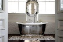 CM loves: bathrooms / there must be quite a few things that a hot bath won't cure, but we don't know many of them