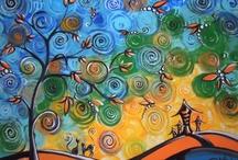 Raluca Nedelcu paintings