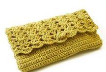 Crochet Bag & Clutch & Purse & Wallet & Case / by anou design