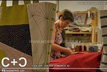 C+Ɔ - Cagliari  / bags handmade in woolen > www.mondosardegna.it/cc