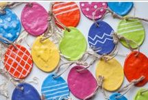 Easter / An assortment of Easter crafts and activities for kids of all ages.  Includes bunny and chick crafts, DIY Easter eggs, baskets, & Easter decorations.