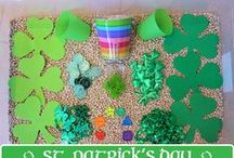St Patrick's Day / St. Patrick's Day crafts and activities for kids. Includes shamrock crafts, sensory bins, rainbow activities, St. Patrick's Day recipes and decor.