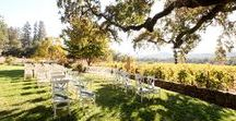 WEDDING // wine country / Winery wedding venues. From Napa, Sonoma and beyond. California winery wedding photos.