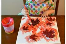 Fall Fun: Arts, Crafts & Activities / Celebrate the beautiful change of seasons, with fun Fall ideas, including Fall crafts and activities for kids, apple and pumpkin recipes and autumn themed sensory bins!