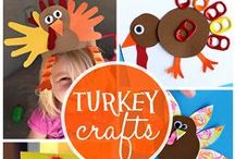 Thanksgiving / Fun ideas to celebrate Thanksgiving with kids and family. Everything from fun turkey crafts and activities to delicious food ideas!