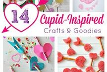 Valentine's Crafts and Activities for Kids / An assortment of Valentine's arts and crafts ideas for toddlers and preschoolers.