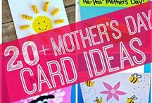 Mother's Day / Kids crafts, activities and DIY gift ideas for Mother's Day!